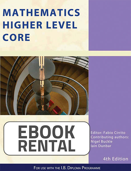 Mathematics Higher Level Core, 4th Ed. <br> <small><small>by Nigel Buckle, Iain Dunbar</small></small>