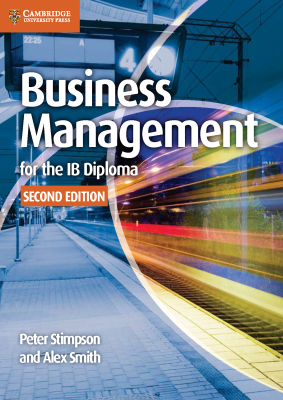 Business Management for the IB Diploma, 2nd Ed. <br> <small><small>by Peter Stimpson, Alex Smith</small></small>
