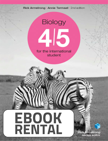 Biology 4-5 for the International Student, 2nd Ed. <br> <small><small>by Rick Armstrong, Annie Termaat</small></small>