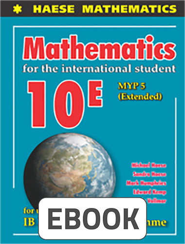 Mathematics for the International Student 10 Extended Digital