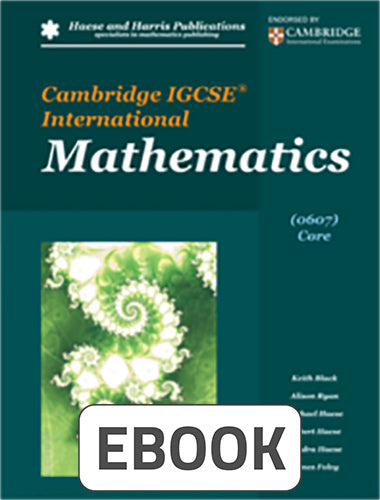 Cambridge IGCSE Extended Digital
