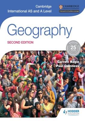 Geography for Cambridge International AS and A Level, 1st Ed. <br> <small><small>by Garrett Nagle, Paul Guinness</small></small>