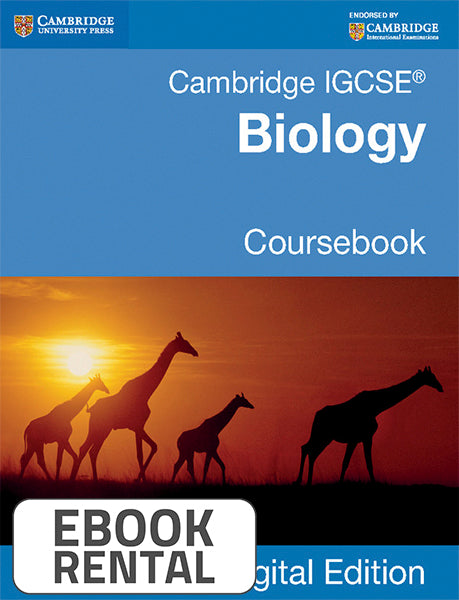 Cambridge IGCSE® Biology Coursebook