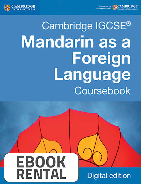 Cambridge IGCSE® Mandarin as a Foreign Language Coursebook