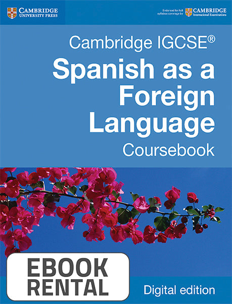 Cambridge IGCSE® Spanish as a Foreign Language Coursebook