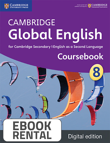 Cambridge Global English for Cambridge Secondary 1 English as a Second Language Coursebook 8
