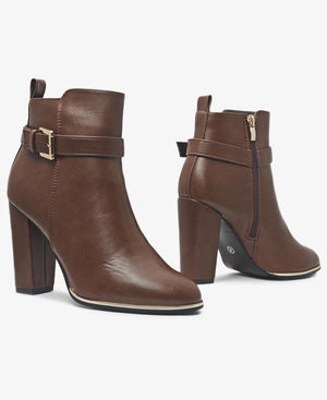 Ankle Boots - Brown
