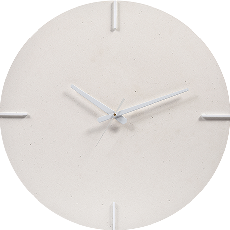 Caesarstone® Wall Clock - Fresh Concrete 4001