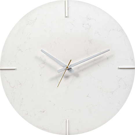 Caesarstone® Wall Clock - Frosty Carrina 5141