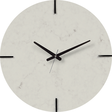 Caesarstone® Wall Clock - London Grey 5000