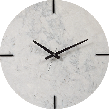 Caesarstone® Wall Clock - Noble Grey 5211