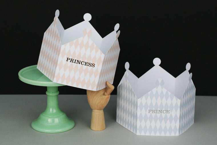 PRINCE & PRINCESS CROWN CARD