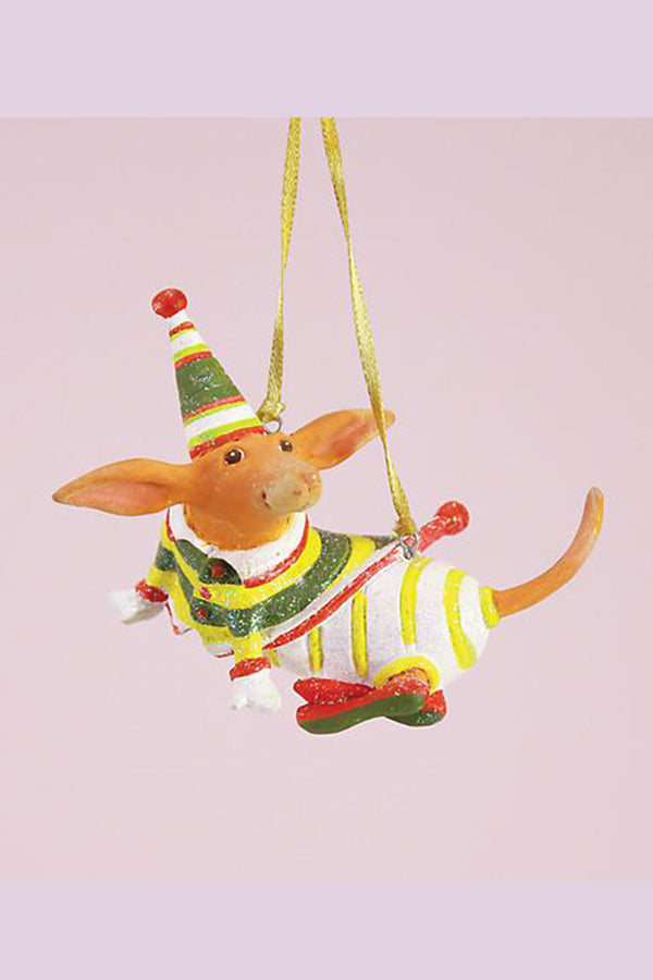 Mini Ornament - Dachshund
