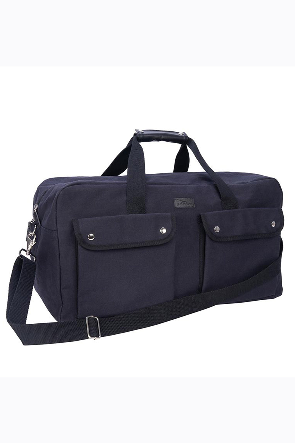 "The Tucker Duffle Bag - ""Navy Canvas"""