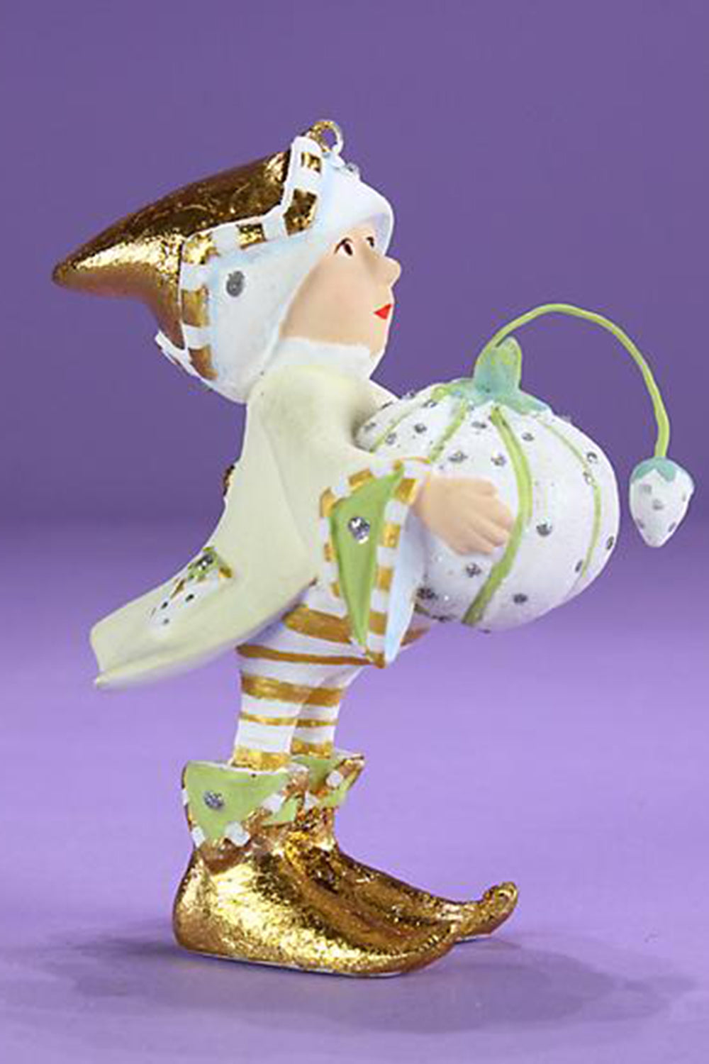 Mini Moonbeam Elf Ornament - Prancer's Tailor