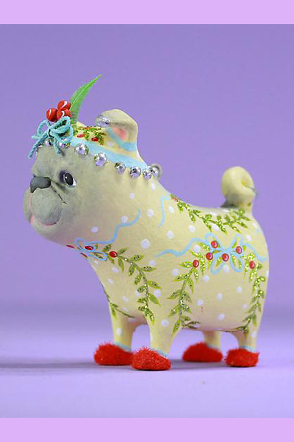 Mini Ornament - Prudence Pug