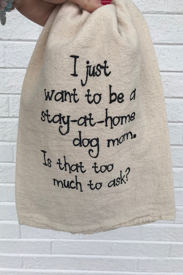 Funny Towel - Dog Mom