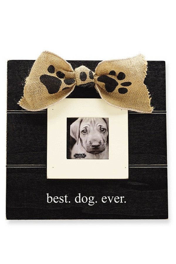 Double Layer Best Dog Ever Frame