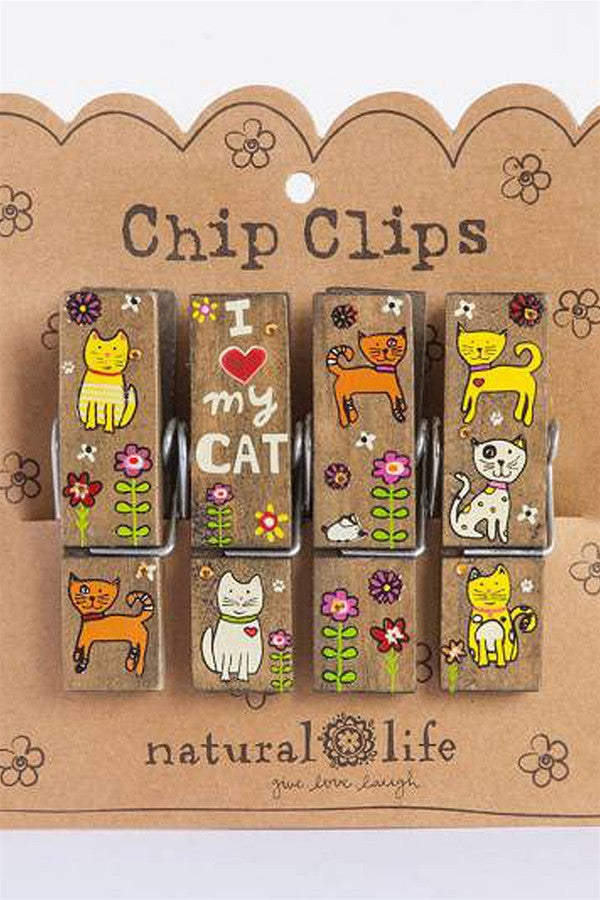 Chip Clip Set - Love my Cat  - LOVEMYCAT