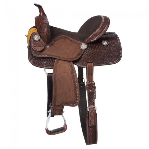 Jackpot Barrel Saddle