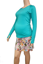 fleurs maternity skirt & pool maternity longsleeve