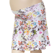 fleurs maternity skirt suport band under