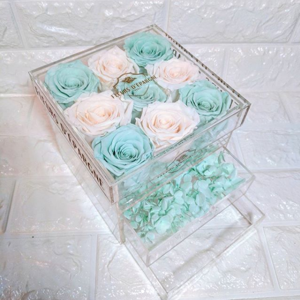 Crystal Vanity Box