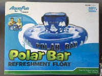 AQUA FUN POLAR BAR REFRESHMENT HOLDER FLOAT COOLER WATER POOL SPA BEACH - the-bowerbirds-nest-of-treasures