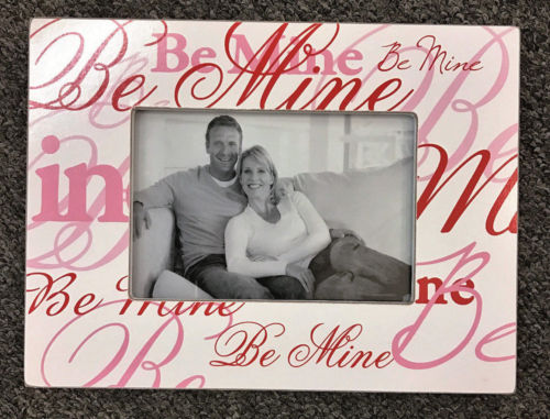 BE MINE Picture Photo Frame Home Decor Valentines Gift - the-bowerbirds-nest-of-treasures