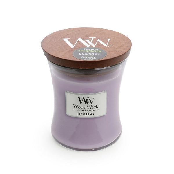 Lavender Spa Woodwick Medium Candle - the-bowerbirds-nest-of-treasures