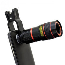 Universal 8X Optical Zoom Telescope Camera Lens Clip