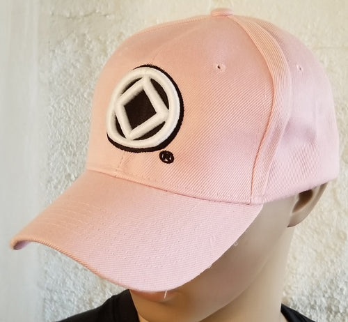 hg- Ball Cap-Ladies Pink Service Symbol
