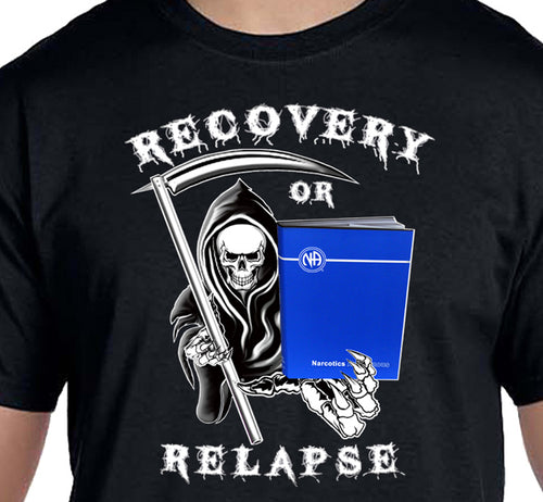 Recovery Or Relapse Unisex Tee