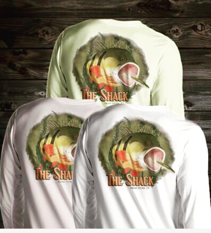 Angry Peacock Long Sleeve Shirt