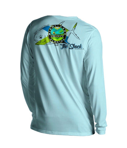 Bite Me Bait Shack Permit Long Sleeve