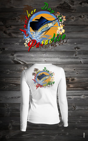 "BMBS Jumping Sailfish Long Sleeve Dri-Fit ""Ladies Fit"""