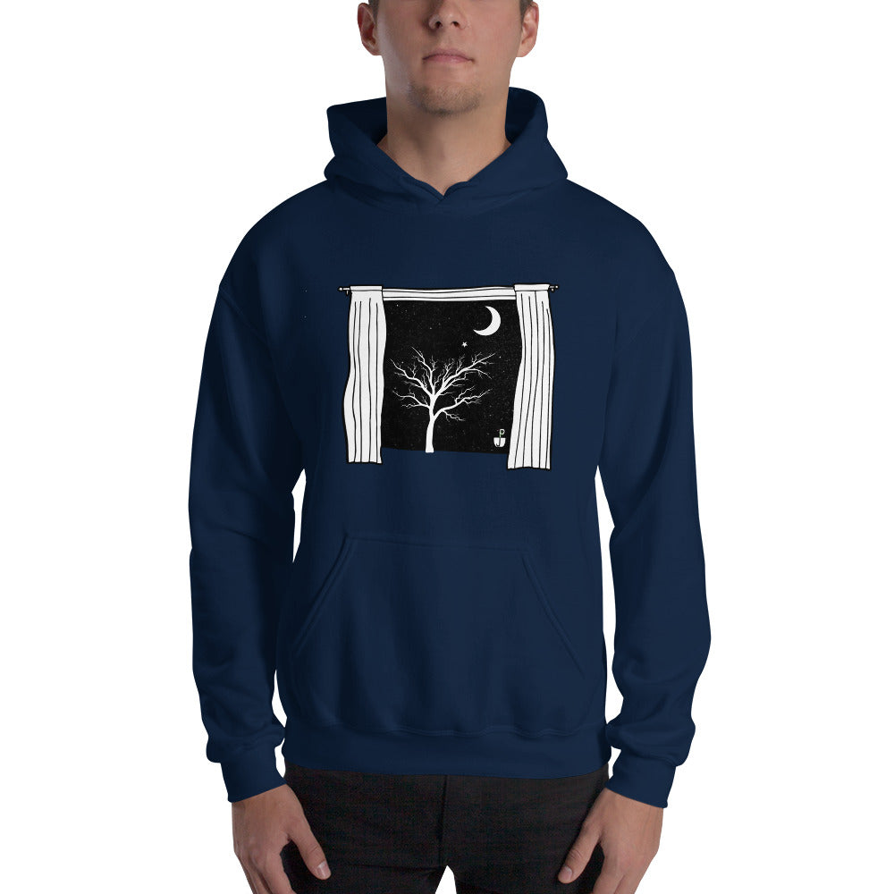 Starry Starry Night Hooded Sweatshirt by PJ Dreams
