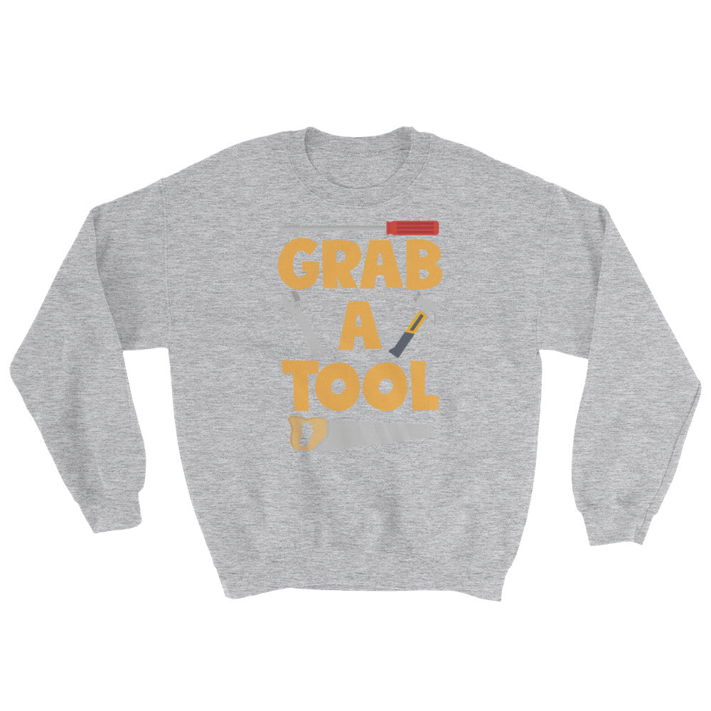 Grab a Tool Sweatshirt - DIY Creators Official Merchandise