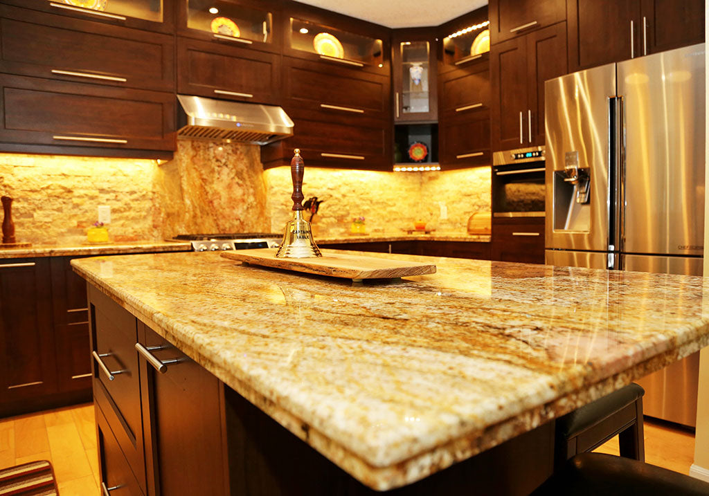Customied cabinet and countertop