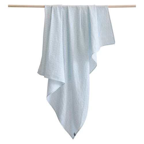 Pikku Baby | Muslin Swaddle Wrap | Ocean Collection