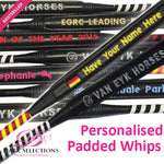 Personalised Padded Whip