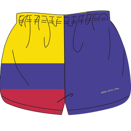 "WOMEN'S 1"" ELITE SPLIT SHORT- TAIWAN"