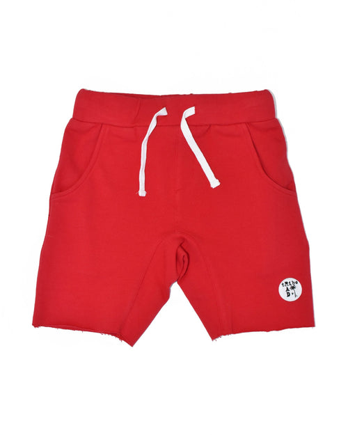 Rad Tribe Shorts - Red