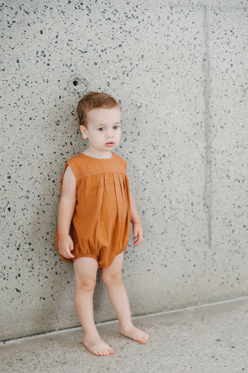 Milly Romper - Ginger