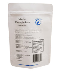 Marine Phytoplankton Omega 3 +++ 2.12 Oz Vegetarian Powder for Dogs & Cats for Healthy Skin & Overall Health - Mr Ros Natural Premium Superfoods