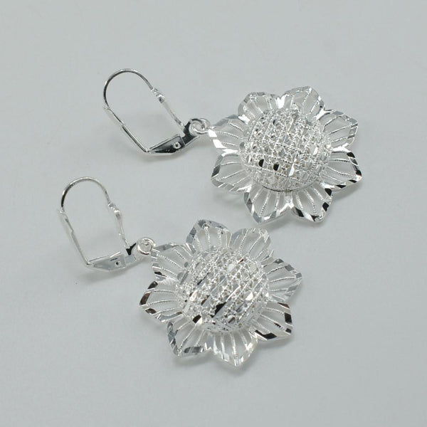 Silver Color Ethiopian Earrings - African Style Jewelry