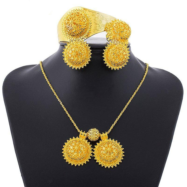 Habesha Easter Jewelry Sets - African Style Jewelry