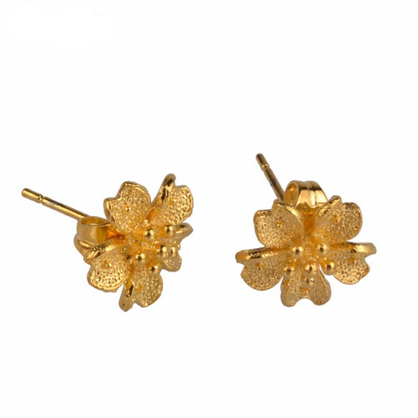 SMALL Earrings Flower for Girls - African Style Jewelry