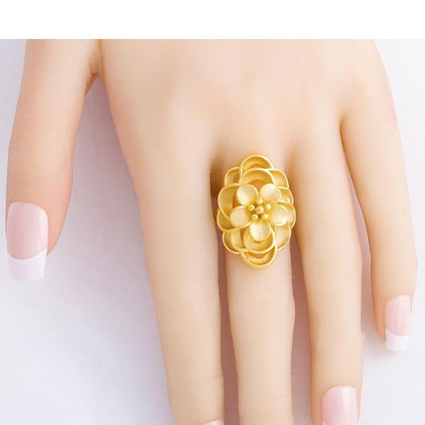 Flora lady ring - African Style Jewelry