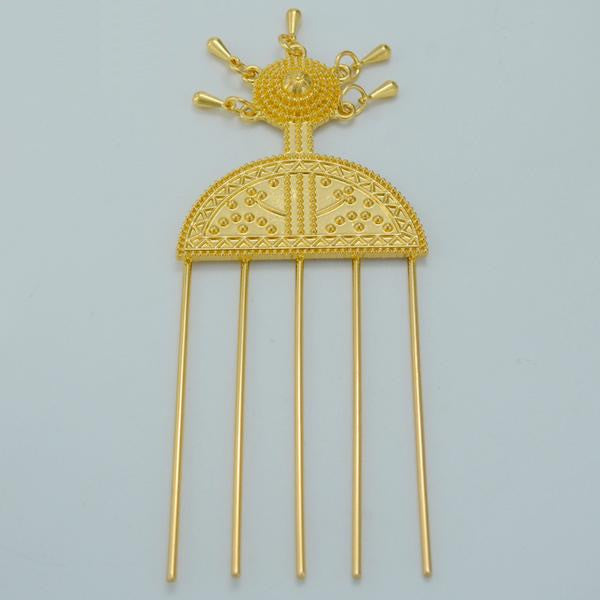 Ethiopian Hairpin Jewelry - African Style Jewelry